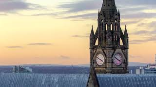 Manchester Town Hall - Timelapse Tuesday 4k