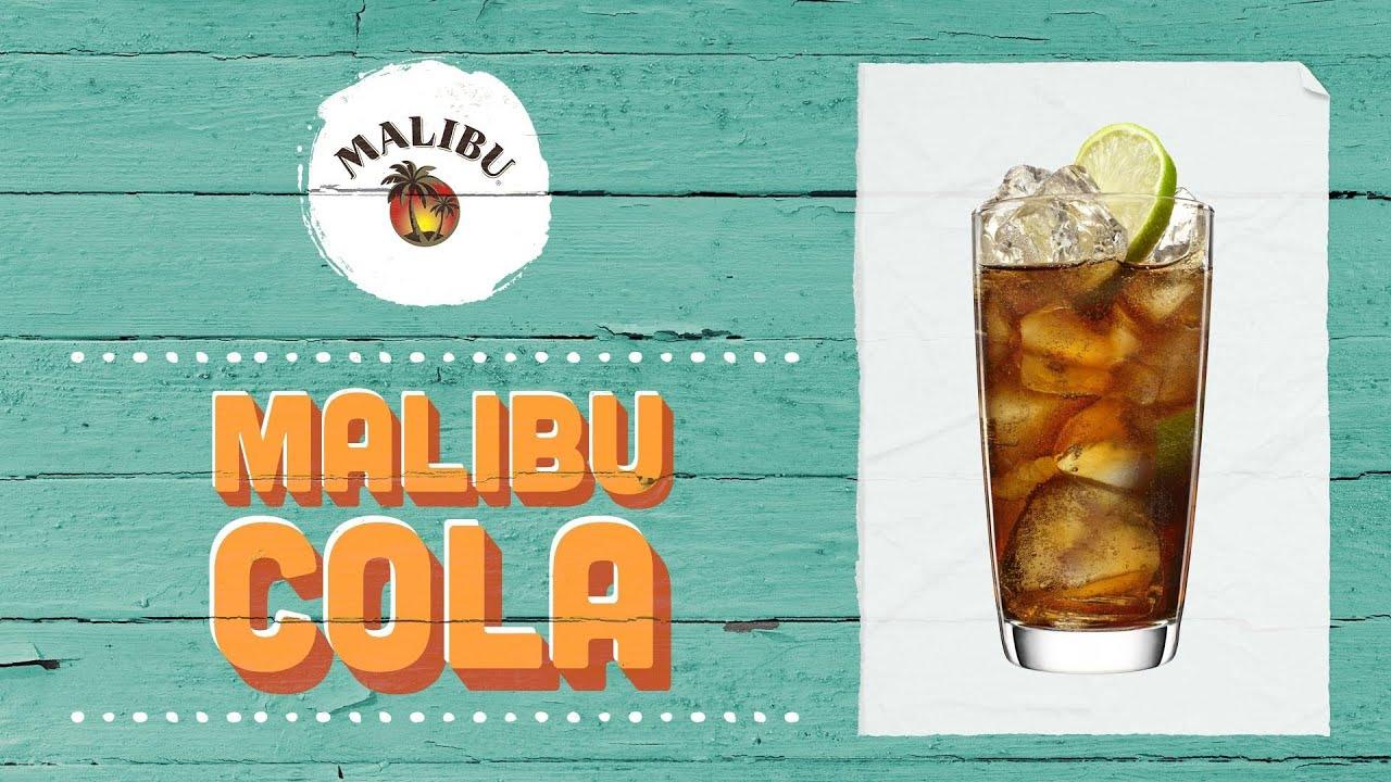 How To Mix A Malibu Cola Youtube