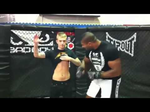 Alistair Overeem punched a fan MMA
