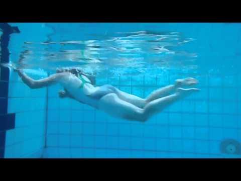 Iris Unterwasseraufnahme
