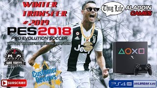 PES 2018 PS4 ALADDIN WINTER TRANSFER 2019 [CUSA08282]