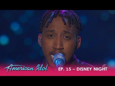 Dennis Lorenzo: Puts It ALL On The Line On Disney Night! | American Idol 2018