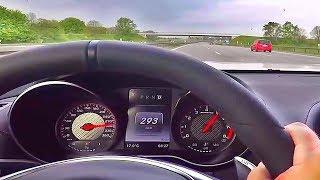 Mercedes-Benz AMG GT-S Autobahn POV Test Acceleration