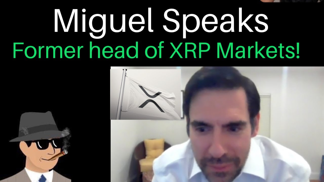 Former Ripple Employee Miguel Vias (Head of XRP Markets) Speaks + XRP Price & News!
