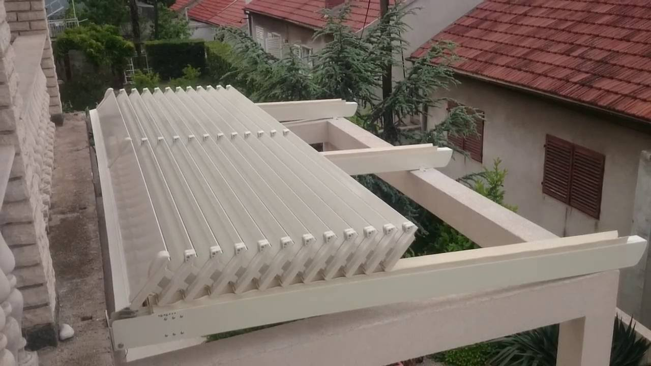 Aluminum Retractable Roof Persa Youtube