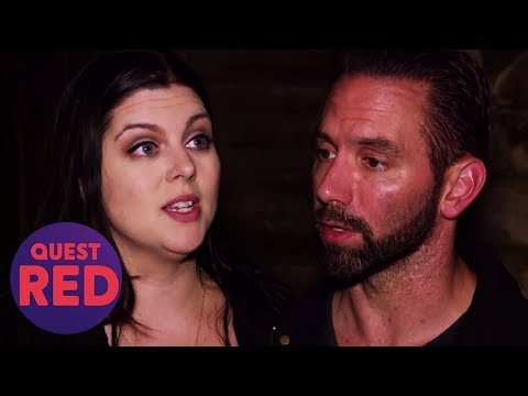 Nick And Katrina Have Freaky Experiences In This Haunted Basement   Paranormal Lockdown