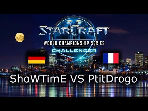 ShoWTimE VS PtitDrogo - PvP - 2019 WCS Challenger Season 3 - polski komentarz