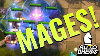 AUTO CHESS MOBILE ► Full Mages!