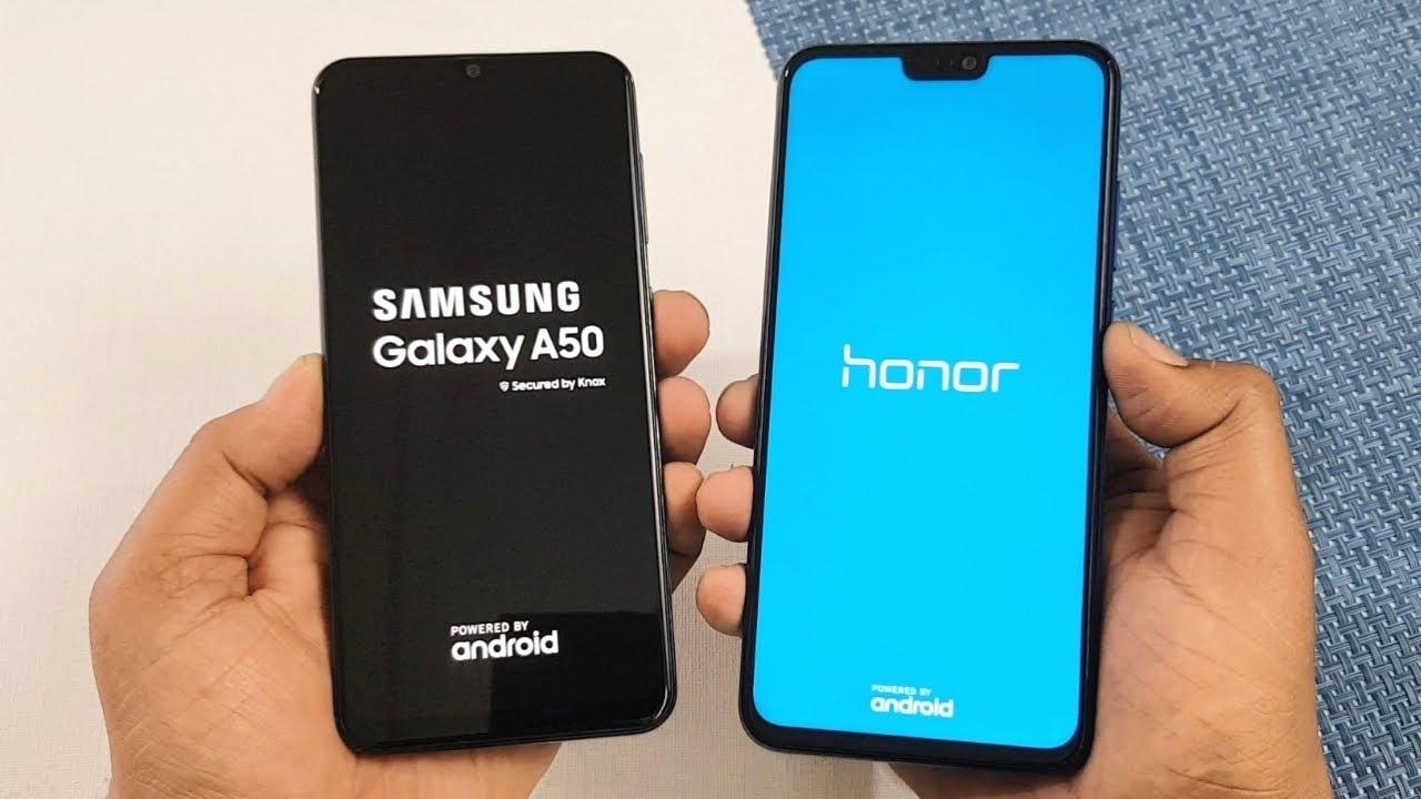 Samsung Galaxy A50 vs Honor 8X SpeedTest & Camera ...