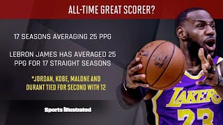 Is LeBron An Underrated Scorer?