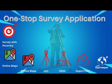 GIS Surveyor- Survey Application For Surveyors