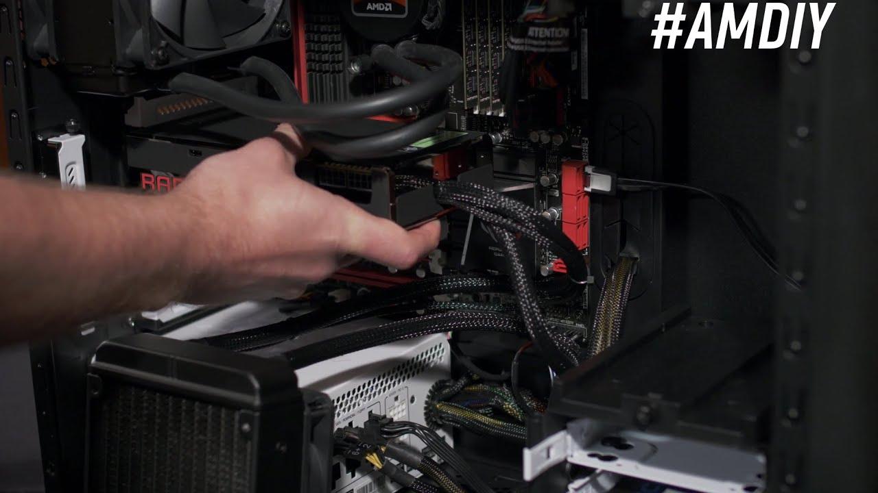 Installing an AMD Radeon™ R9 Fury X GPU