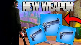 NEW DESERT EAGLE WEAPON UPDATE - FORTNITE BATTLE ROYALE - SEASON 3 BATTLE PASS