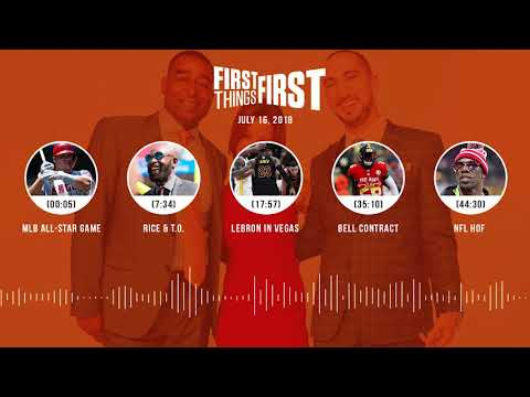 First Things First audio podcast(7.16.18) Cris Carter, Nick Wright, Jenna Wolfe | FIRST THINGS FIRST