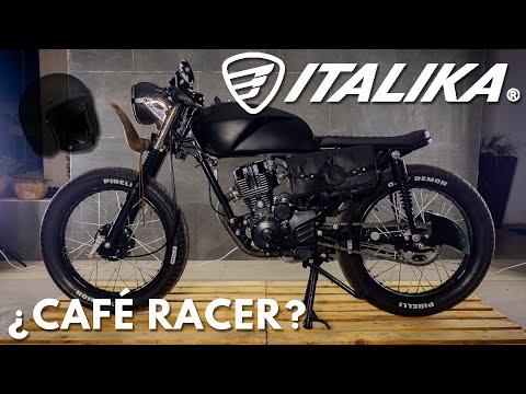 De moto de trabajo a Caf Racer, Italika Proyecto 100% | Jorge Balderas