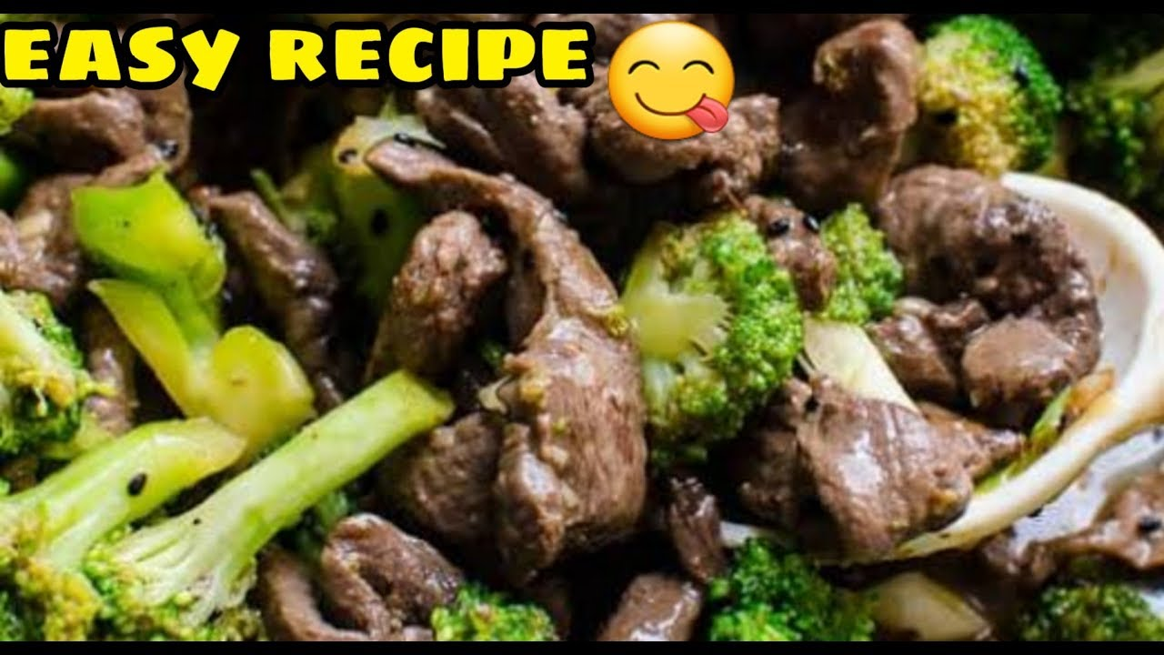 EASY BEEF AND BROCCOLI RECIPE FILIPINO BEEF AND BROCCOLI ...