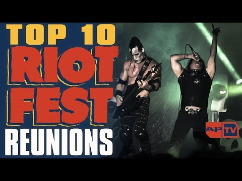 Top 10 Riot Fest Reunions We NEVER Thought Would Happen | ALTPRESS COUNTDOWN