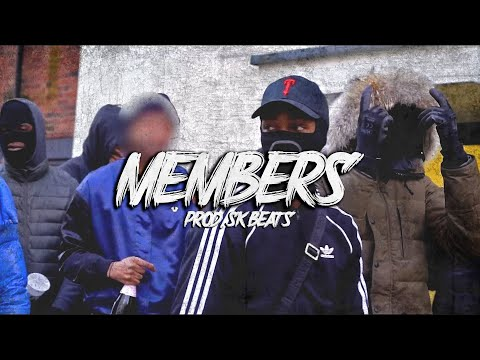"Digga D X RV X KO Type Beat ""MEMBERS"" UK Drill Instrumental (Prod. SK-Beats)"