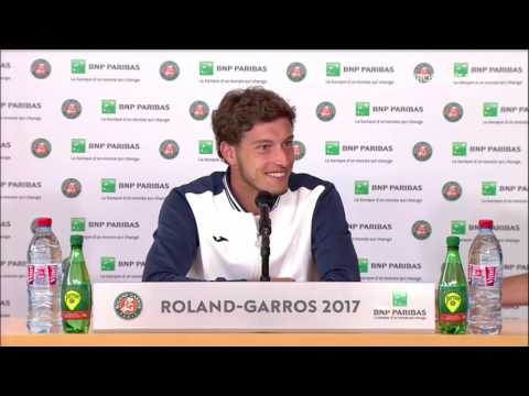 Pablo Carreño Busta Press Conference RG17 - 4th of June