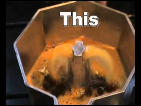 How to use a Bialetti Stovetop Espresso Maker - 6 Cup - YouTube