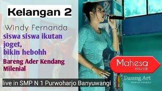 Si Cantik Windy Fernanda Bareng Mahesa Musik Live Nyanyi Kelangan 2