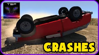 BeamNG drive - Killing a Toyota Hilux - CRASHES & ACCIDENTS