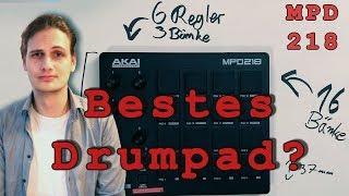 ️ AKAI MPD 218 TEST - Was kann das Drumpad alles? - Deutsch
