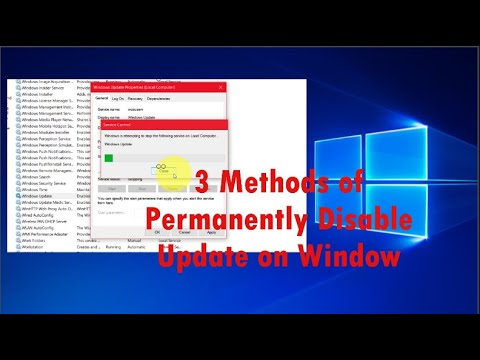 3 Methods Of Permanently Disable Automatic Update On Window 2020