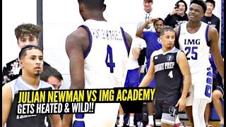 Julian Newman GETS SUPER HEATED vs IMG Academy!!! Prodigy Prep vs IMG Got WILD!!