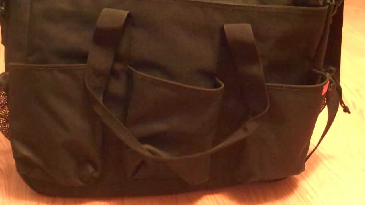 Review Of Skip Hop Duo Double Delux Diaper Bag Twins Large Messenger Style You