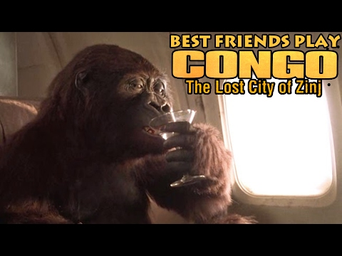 Best Friends Play Congo The Movie: The Lost City of Zinj