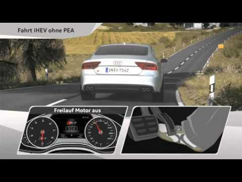 Audi iHEV PEA - hybrid A7 - e-tron quattro