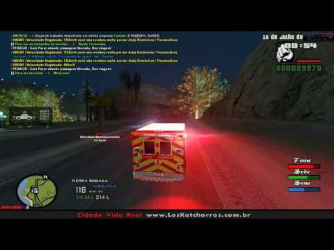 Ambulance Emergency | Los Angels Fire Dept. - GTA SA