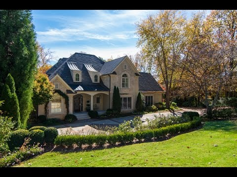 Million Dollar Luxury Home Atlanta GA - 5091 Riverview Road - HD Video Tour