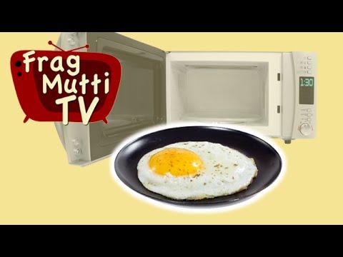 Spiegelei Rührei Und Eierstich Aus Der Mikrowelle Frag Mutti Tv You