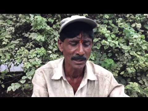 Mahalinga a daily wage worker from pune