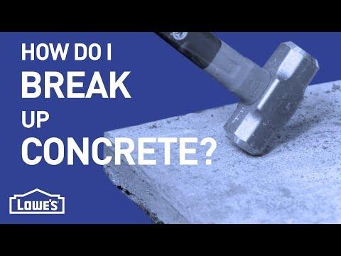 How Do I Break Up Concrete?   DIY Basics