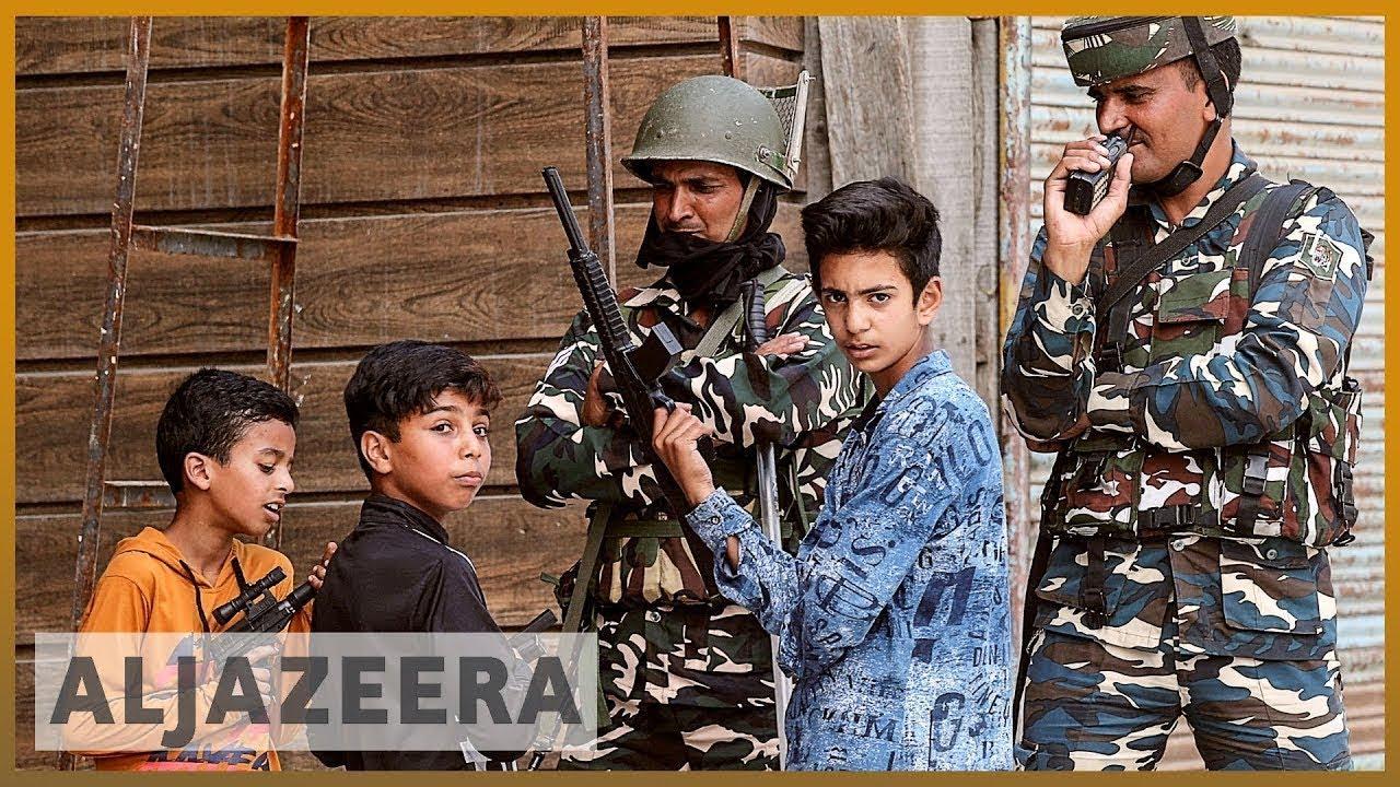 AlJazeera English:Kashmir crisis: Students stay away from schools