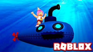 ESCAPE THE SUBMARINE IN ROBLOX Escape the Submarine Obby