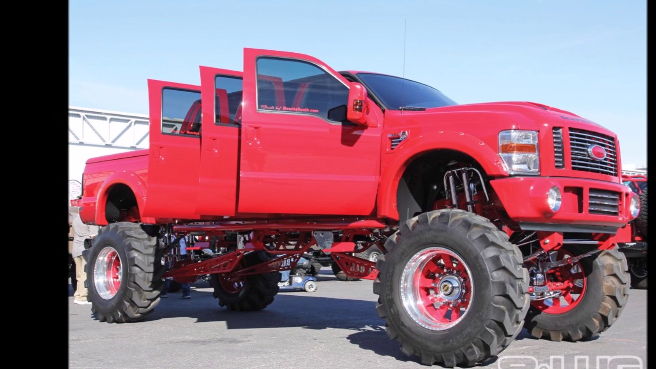 Pimped out Ford trucks video 1 - YouTube