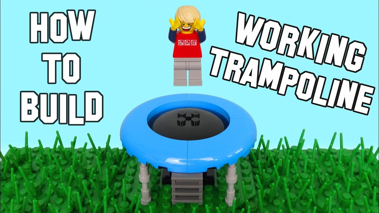 How To Build A Working Lego Trampoline - Actually Bounces ...