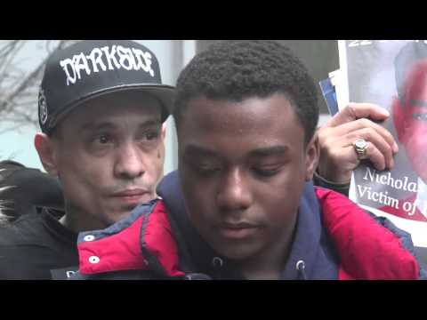 """#JusticeForAKAIGURLEY Press Conf """"NYPD Put gun to his Head saying, I'LL BLOW YOU AWAY'"""