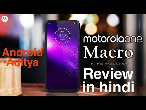 Android Aditya-: Motorola One Macro Review In Hindi || Best macro shot camera 10k segment...