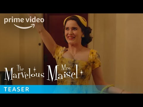 The Marvelous Mrs. Maisel Season 2 - Teaser | Prime Video