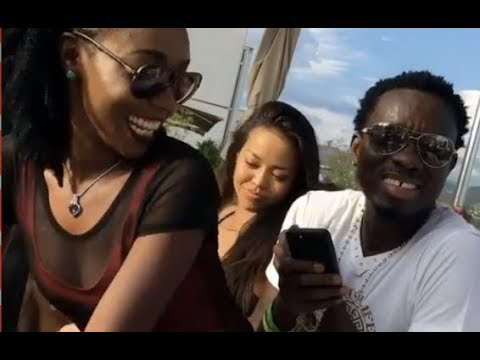 Michael Blackson Tries So Hard Not To Cheat On His Wife At Vegas Pool Party