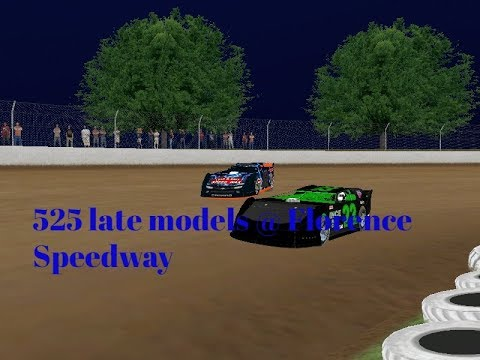 CT525 Late Models @ Florence Speedway (rFactor)