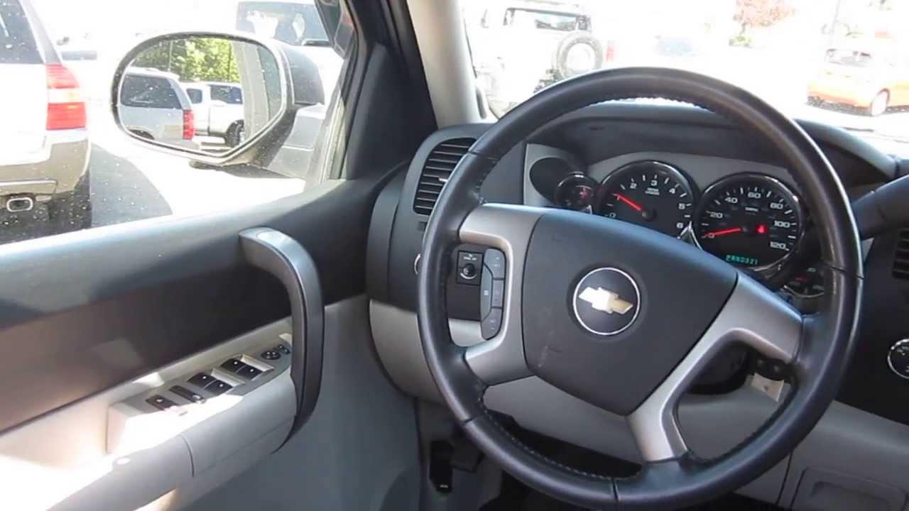 2008 Chevrolet Silverado Blue Granite Stock C1300261 Interior