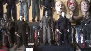 halloween michael myers 12 inch 1/6 collection sideshow Upgrade !