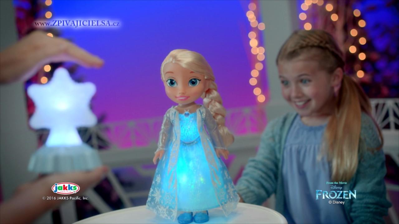 5f7c898a5 Disney Spievajúca a svietiaca Elsa