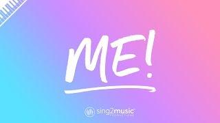ME! (Piano Karaoke Instrumental) Taylor Swift & Brendon Urie